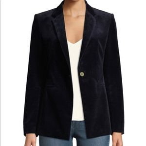 Theory Power Corduroy Blazer in Deep Navy